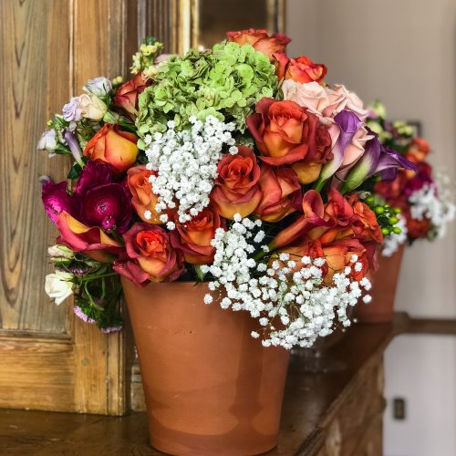 Cover Decorations Lucullus - Napoleon House Wedding Florals